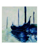Gondolas- Reproduction- Claude Monet