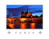 Paris - Dusk River Seine