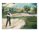 Bobby Jones In Augusta - Golf
