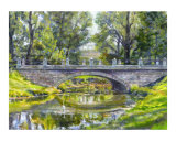 Forest Park Pond with Egret