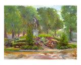 View of Houdon's Washington - Lafayette Park