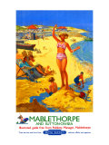 Mablethorpe and Sutton-on-sea  BR poster  circa 1950s