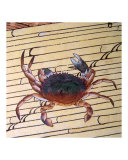 Asian Crab on Bamboo