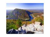 Autumn Vista of the Delaware Water Gap