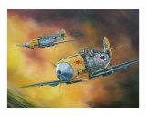 Me-109 s Attack 1940