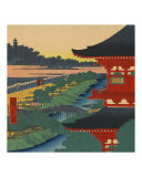 Edo Japan Sunrise