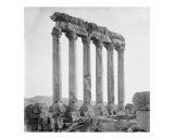 Historical Roman Ruins  Baalbek Lebanon