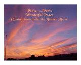 Peace  Peace  Wonderful Peace