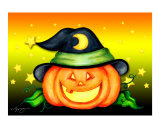 Halloween Jack-O-Lantern Hat Series - Witch Hat