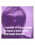 Elle et lui Reproduction d'art par Andy Warhol