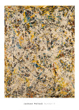 No. 9, 1949 Reproduction d'art par Jackson Pollock