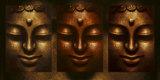 Buddha in Three Lights