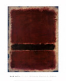 Sans titre, 1963 Reproduction d'art par Mark Rothko