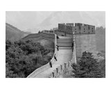 Great Wall of China - Black and White