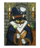 Merlin The Magician as a Cat