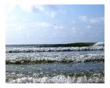 The ocean at my feet