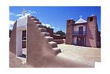 Adobe Church of Taos Pueblo