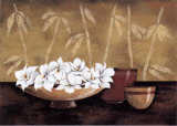 Still Life and White Bloom I