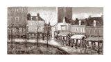 Vue de Paris  Place du Tertre