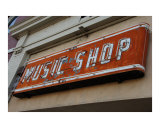 Music Shop Sign