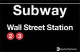 Subway Wall Street Station