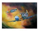 Messerschmitt 109's Attack