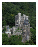 Rhine River Castle Rheinstein