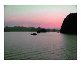 Sunset  Ha Long Bay  Viet Nam