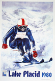 Lake Placid 1980 - Skier Text