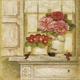 Floral Arrangement with Grapes I