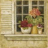 Floral Arrangement in Windowsill I