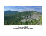 Cannon Cliffs Located in Franconia Notch  New Hampshire USA