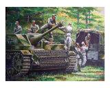 German Stug IV Being Loaded  1944