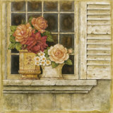 Floral Arrangement in Windowsill II