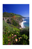The Bixby Creek Bridge  Big Sur  California