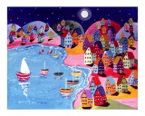 Magical Moonlight Sailing