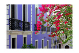 Colorful Balconies of Old San Juan