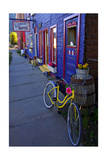 Yellow Bicycle  Silverton  Colorado