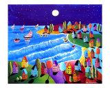 Night Sail Under The Moon