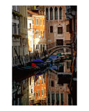 Canal in Venice with Reflection