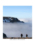 rise above the clouds  Cairngorm  Scotland Colour