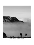 rise above the clouds  Cairngorms Scotland