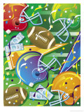 Texture  Football Elements  Grouped Elements