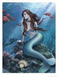A Mermaid in the Ocean