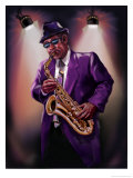 African-American Saxophone Player
