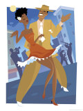 Harlem Renaissance Dancing Couple
