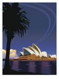 A View of the Sydney Opera House in Sydney  Australia