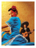 Mariachi and Flamenco Dancer