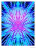 Blue Electricity Texture