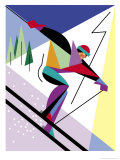 A Downhill Skier